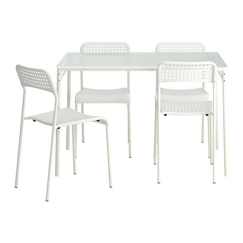 LYRESTAD/ADDE Table and 4 chairs - IKEA   $9999 Cuisine