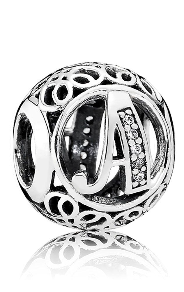 7c804a9f6ed4 Charm Pandora Plata y circonitas Vintage A 791845CZ   PANDORA ...