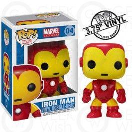 Boneco Iron Man - Marvel - Funko Pop! #geekwish