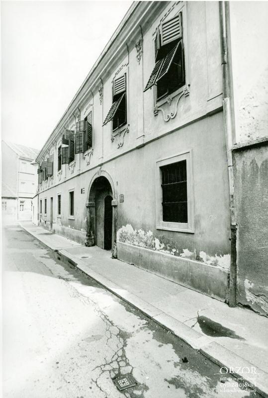 Palaca Sermage Jelacic 1976 Lokacija Gornji Grad Gornji Grad Zagreb Structures