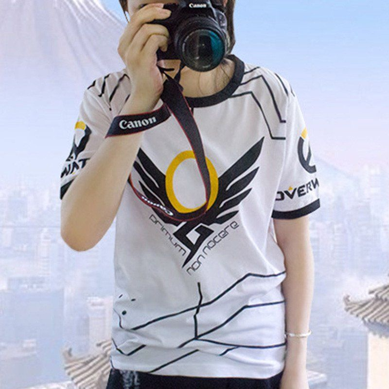 42cbbe6ba Overwatch Mercy Primum Non Nocere T-Shirt | WISHLIST | Overwatch t ...
