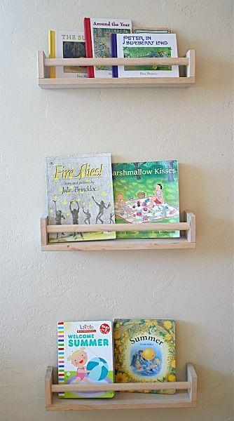 Art Projects For Kids Ikea Bookshelf From Spice Racks