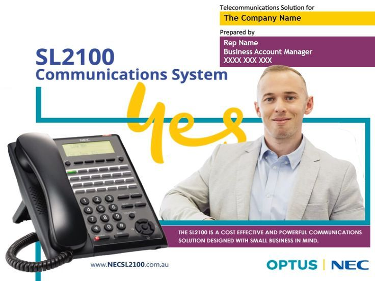 NEC SL2100 Phone System for Small and Medium Businesses in