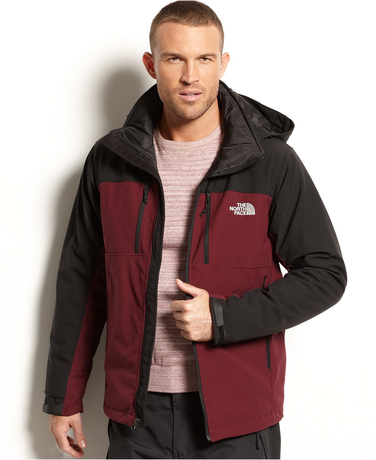 The North Face Jacket Apex Elevation Insulated Jacket Coats Jackets Men Macy S North Face Jacket Insulated Jackets Men S Coats And Jackets [ 1616 x 1320 Pixel ]
