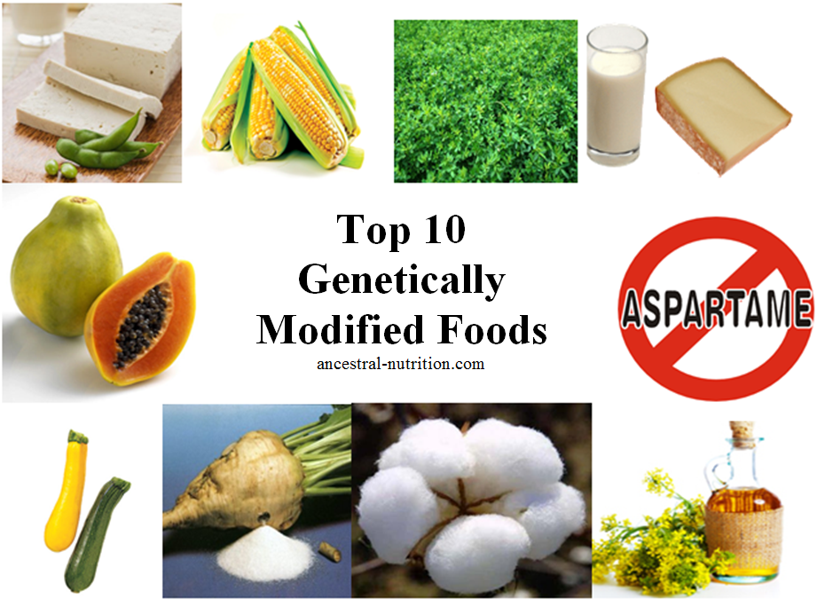 Top 10 Gm Foods Ancestral Nutrition Genetically Modified Food