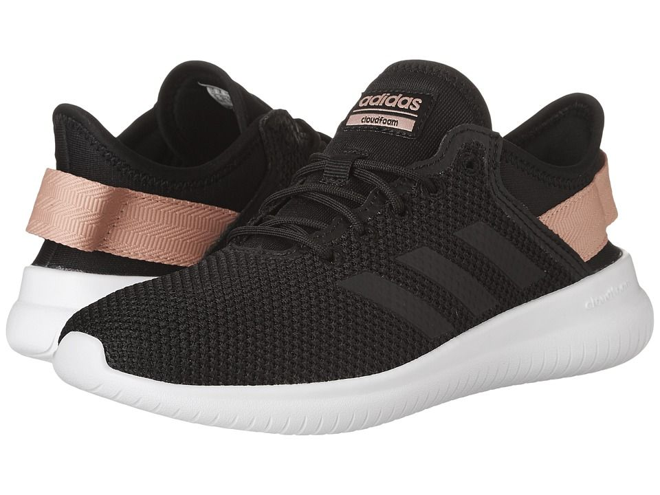 ADIDAS ORIGINALS ADIDAS - CLOUDFOAM QT FLEX (CORE BLACK CORE BLACK TRACE  PINK) WOMEN S RUNNING SHOES.  adidasoriginals  shoes   56553e58a