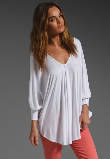 JAMES & JOY Kendra Top in White at Revolve Clothing