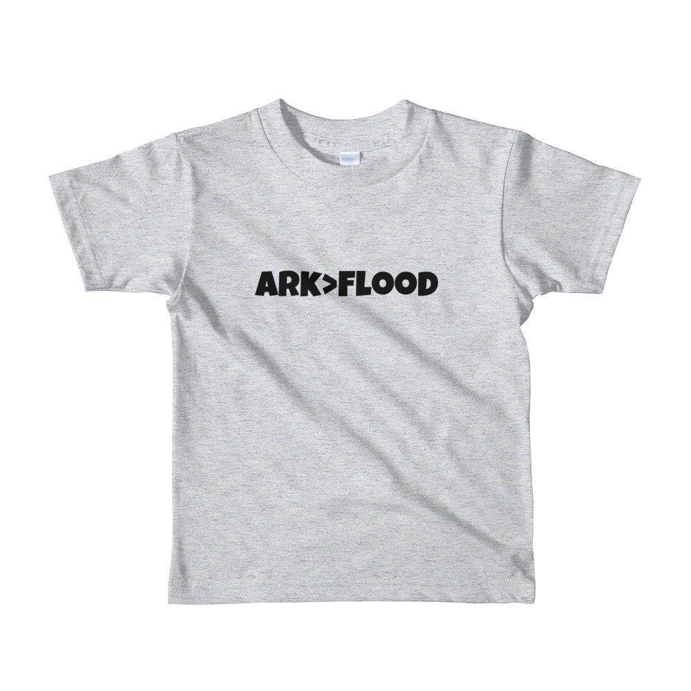 cf41f2007 KIDS! Ark>Flood Shirt. Ark GREATER THAN Flood Shirt. Great bible Stories!  Multiple Colors. Short sleeve kids t-shirt. #ark #flood #noah #dove  #animals #rain ...
