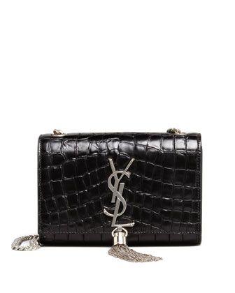 2000f91183 Cassandre+Small+Tassel+Crossbody+Bag