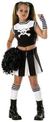 Girls halloween costume bad spirit cheerleader partycity.com