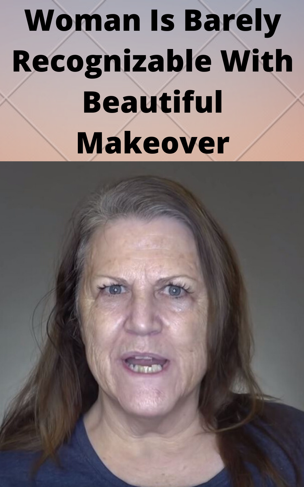 Woman Is Barely Recognizable With Beautiful Makeov
