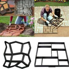 Stepping Stone Mold Concrete Pathmate Paving Pathway Outdoor Garden Paver Mould | eBay #steppingstonespathway