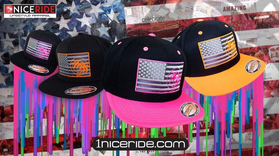 b7bccb9724b Get ready for 4th of July with a new flag hat! Check them all out at  www.1niceride.com
