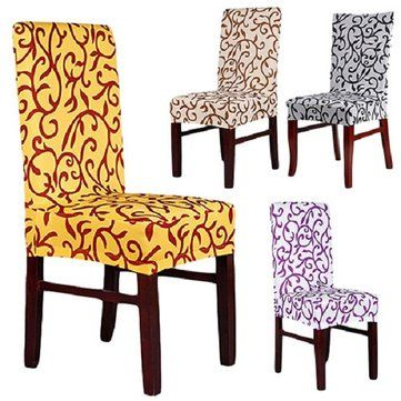Elegant Spandex Elastic Stretch Chair Seat Cover Computer Dining Amazing Covering Dining Room Chair Cushions Inspiration