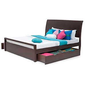 Rovan Storage Bed Queen Size King Storage Bed Latest Wooden Bed