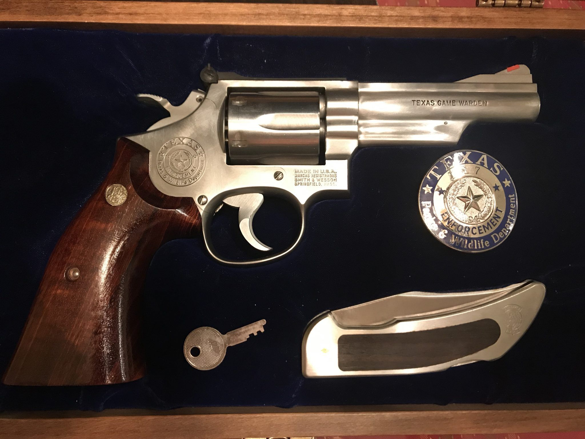 Smith & Wesson .357 Combat Magnum TEXAS GAME WARDEN ISSUE