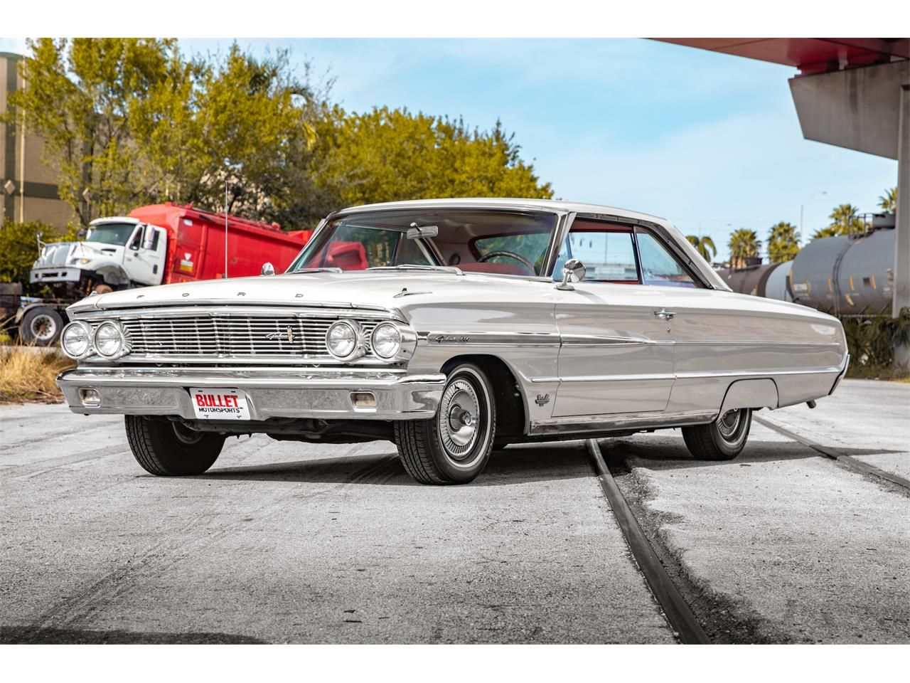 Cream White 1964 Ford Galaxie 500 For Sale Located In Fort Lauderdale Florida 25 000 Classiccars Com Id Cc 1190427 Ford Galaxie Ford Galaxie 500 1964 Ford