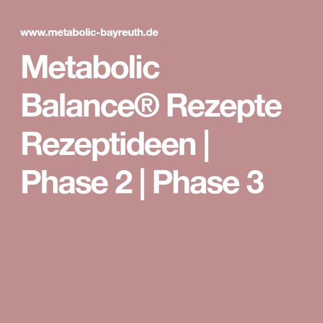 metabolic balance phase 2