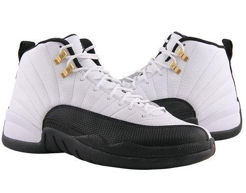 reputable site 6c543 8d6c7  129.97 130690-125 Men s Nike Air Jordan 12 Retro Taxi White-Black