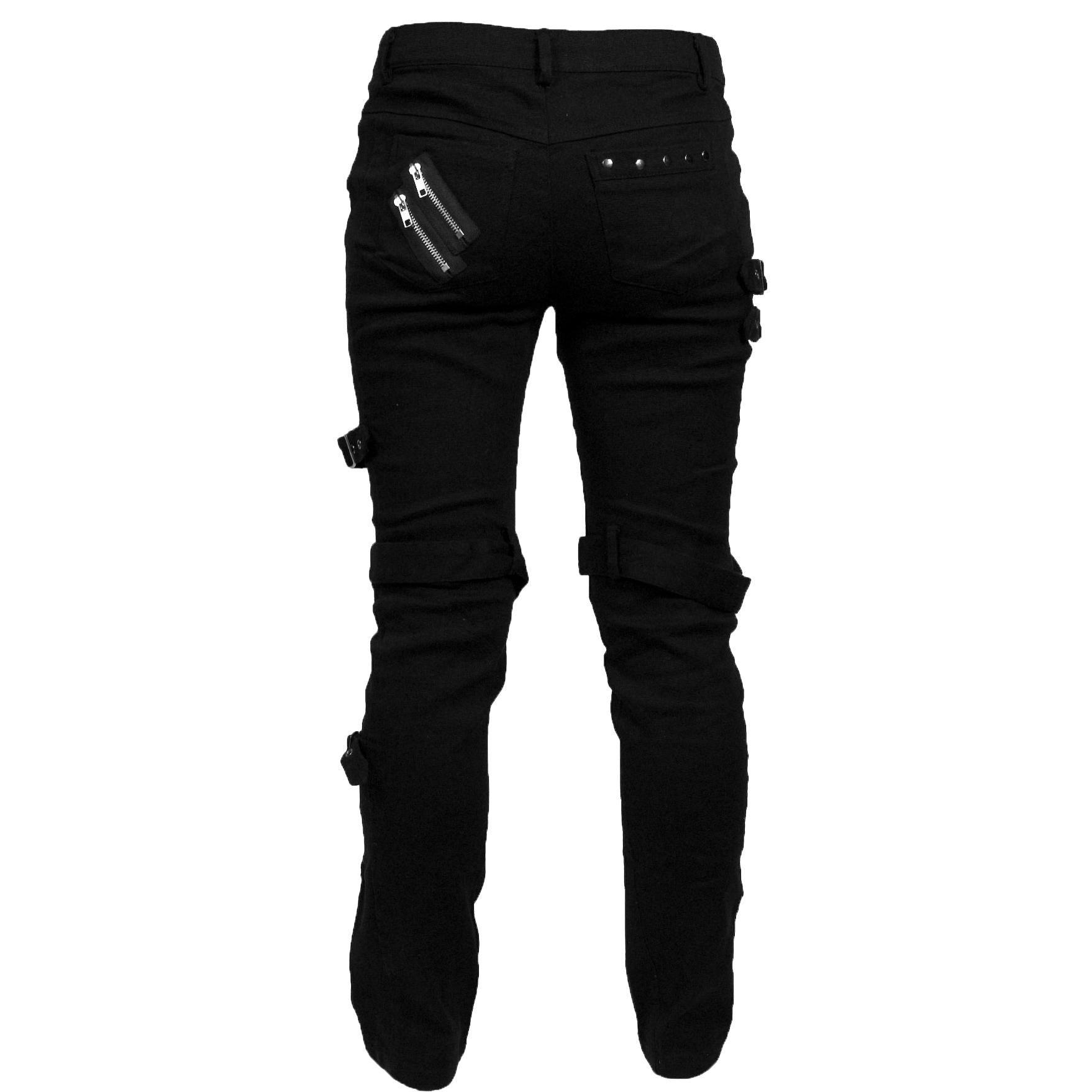 Pantalon Punk Pantalones Mujer Por Kuroneko Numero Articulo 205788 Desde 49 99 Emp Tienda Online De Ca Pantalones Punk Pantalones Pantalones Goticos