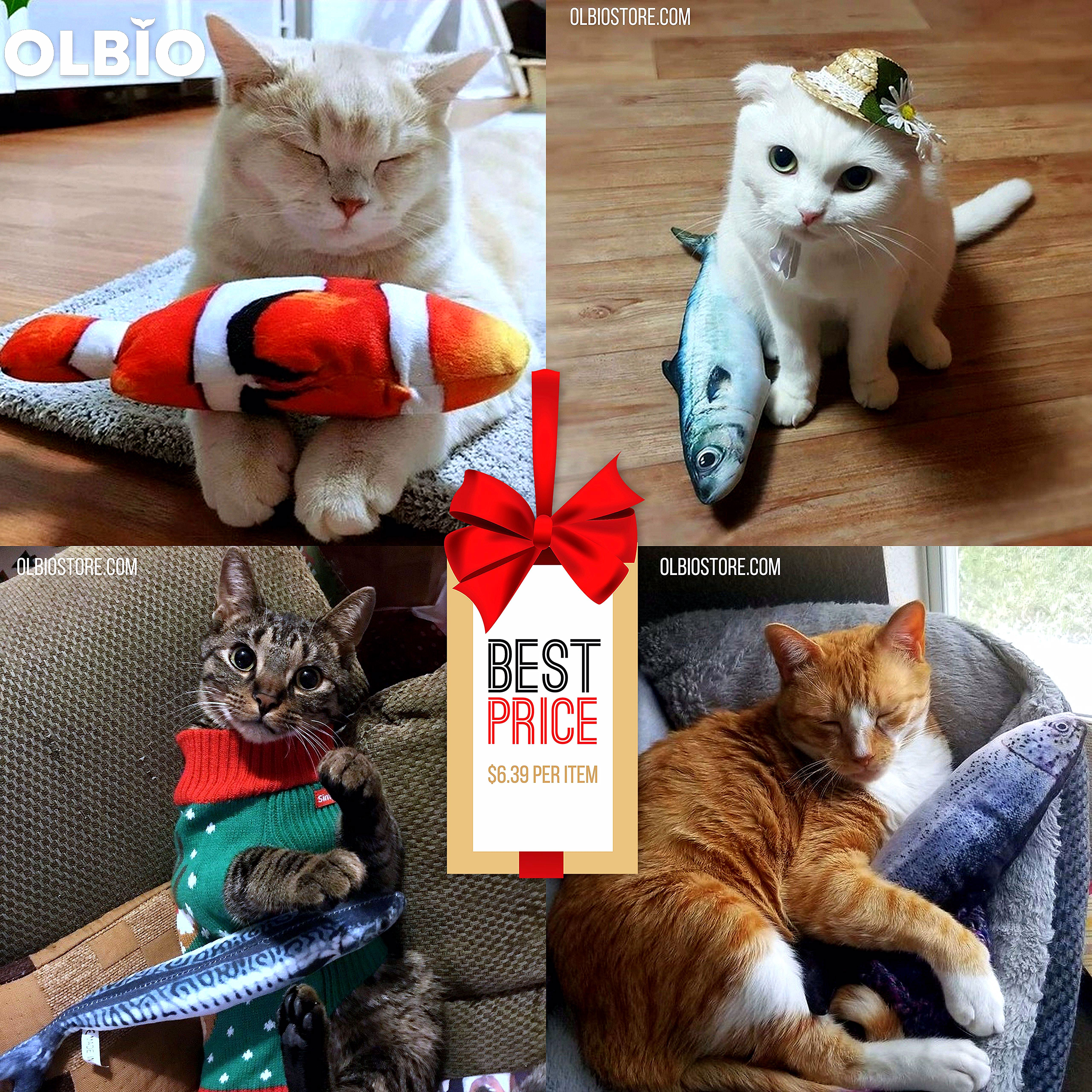 Cat Kicker Fish Toy In 2020 Fish Cat Toy Cats Cute Hamsters