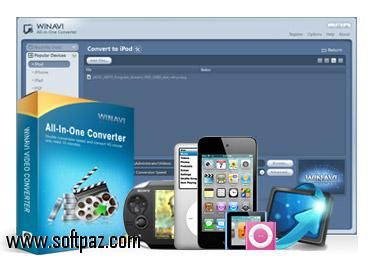 Download WinAVI All In One Converter setup at breakneck speeds with resume support. Direct download links. No waiting time. Visit https://www.softpaz.com/software/download-winavi-all-in-one-converter-windows-183985.htm and click the download now button.