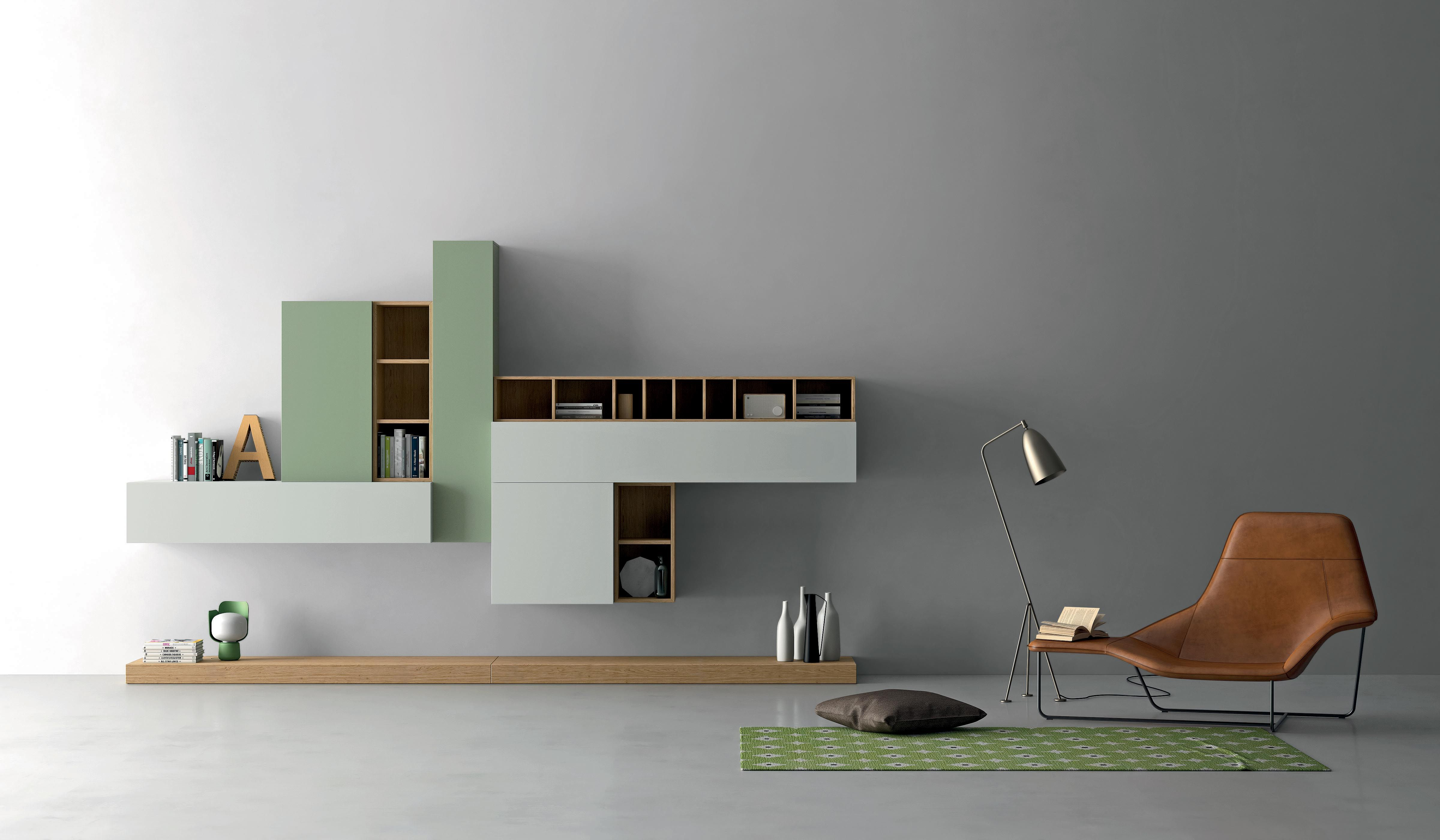 Find Modern, Sophisticated, U0026 Elegant Italian Wall Units In This High End  Italian Home · Modern Living Room ...