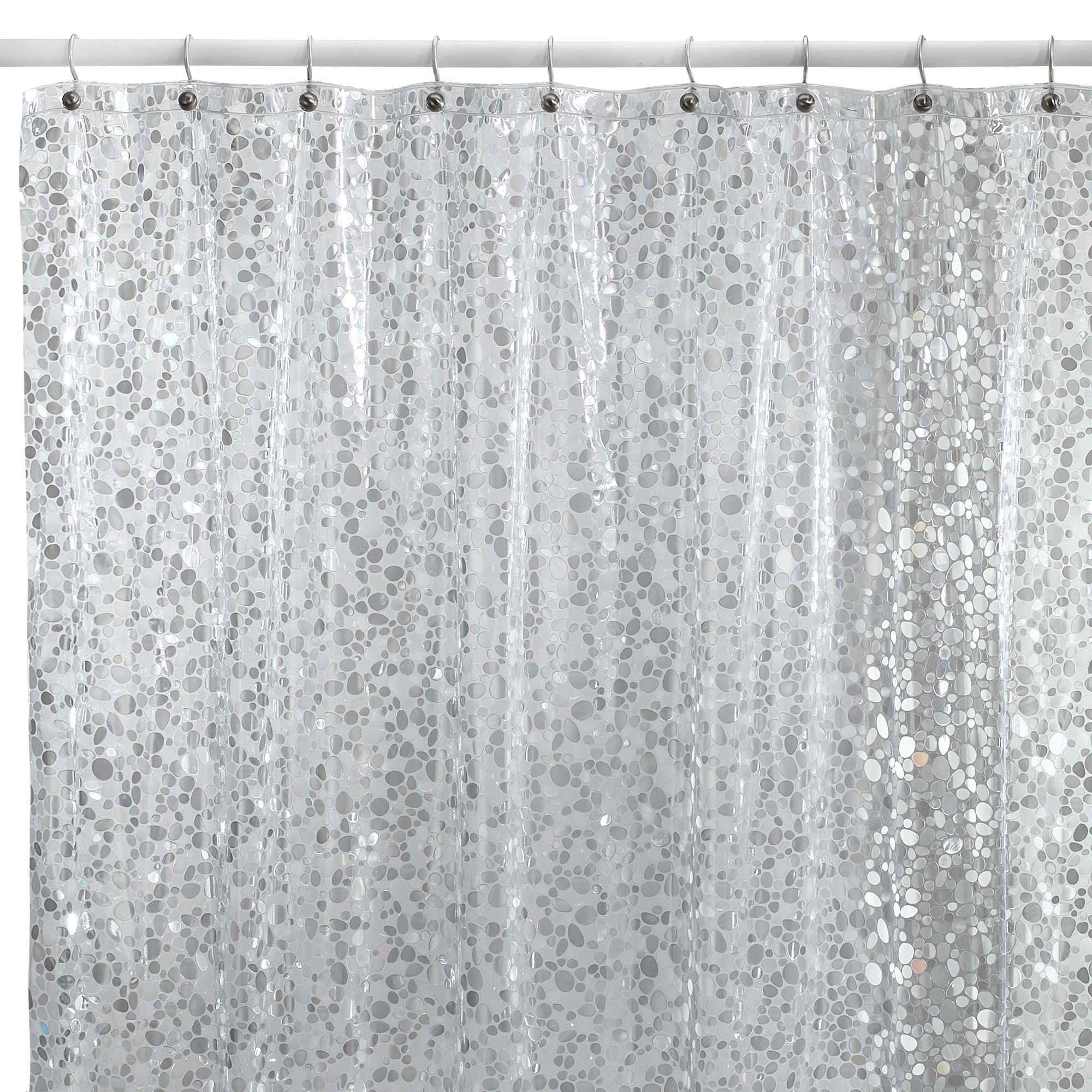 Pebbles Shower Curtain In Silver Cunningham23 Im Kinda Diggin This