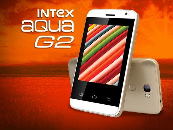 A New Budget Android Smartphone- Intex Aqua G2 Priced @ Rs. 1990- #Intex #aqua #Android #Phones #MobilePhones #SmartPhones #Technology #Technews #Tech #Phones