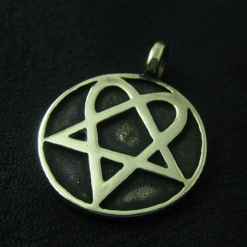 Bronze heartagram pendant by thesunkencity on etsy yerli bronze heartagram pendant by thesunkencity on etsy aloadofball Choice Image