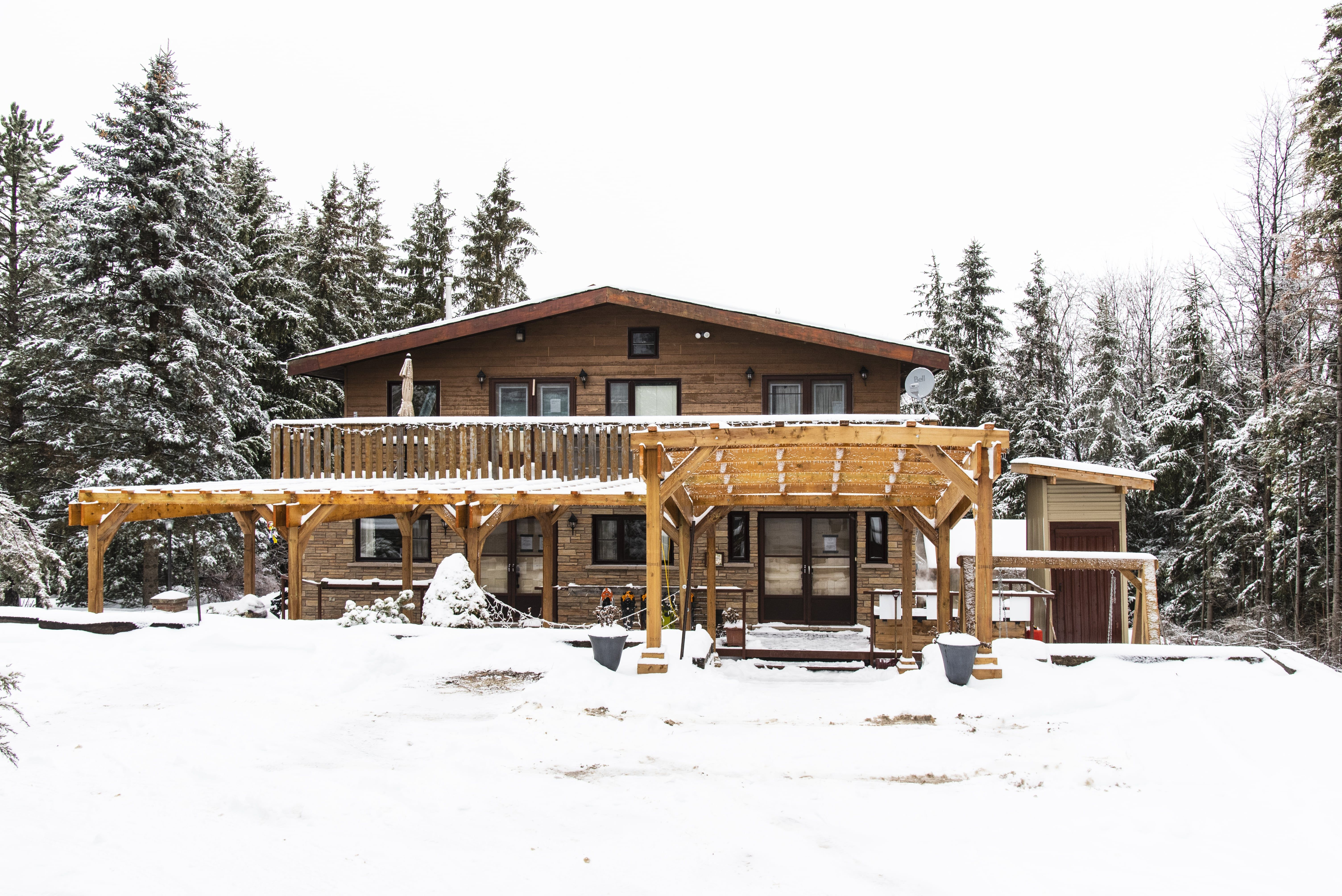 Bowering Lodge & Eagle Adventures in 2020 House styles