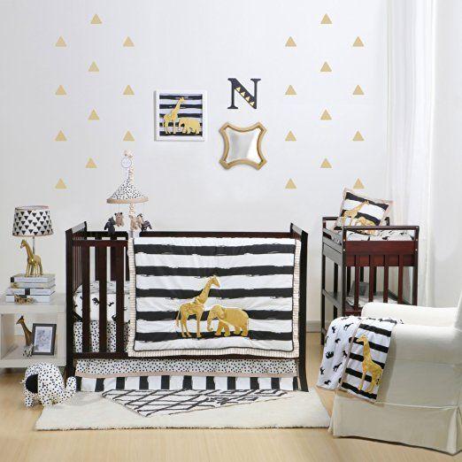 Boy Crib Bedding Boy Nursery Modern Neutral Jungle Palm Etsy Modern Boy Nursery Nursery Room Boy Crib Bedding Boy