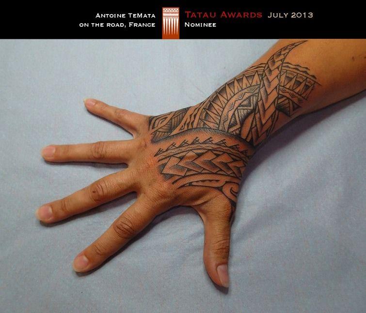 Maori Hand Tattoo: Tribal Hand Tattoos, Polynesian Tattoo