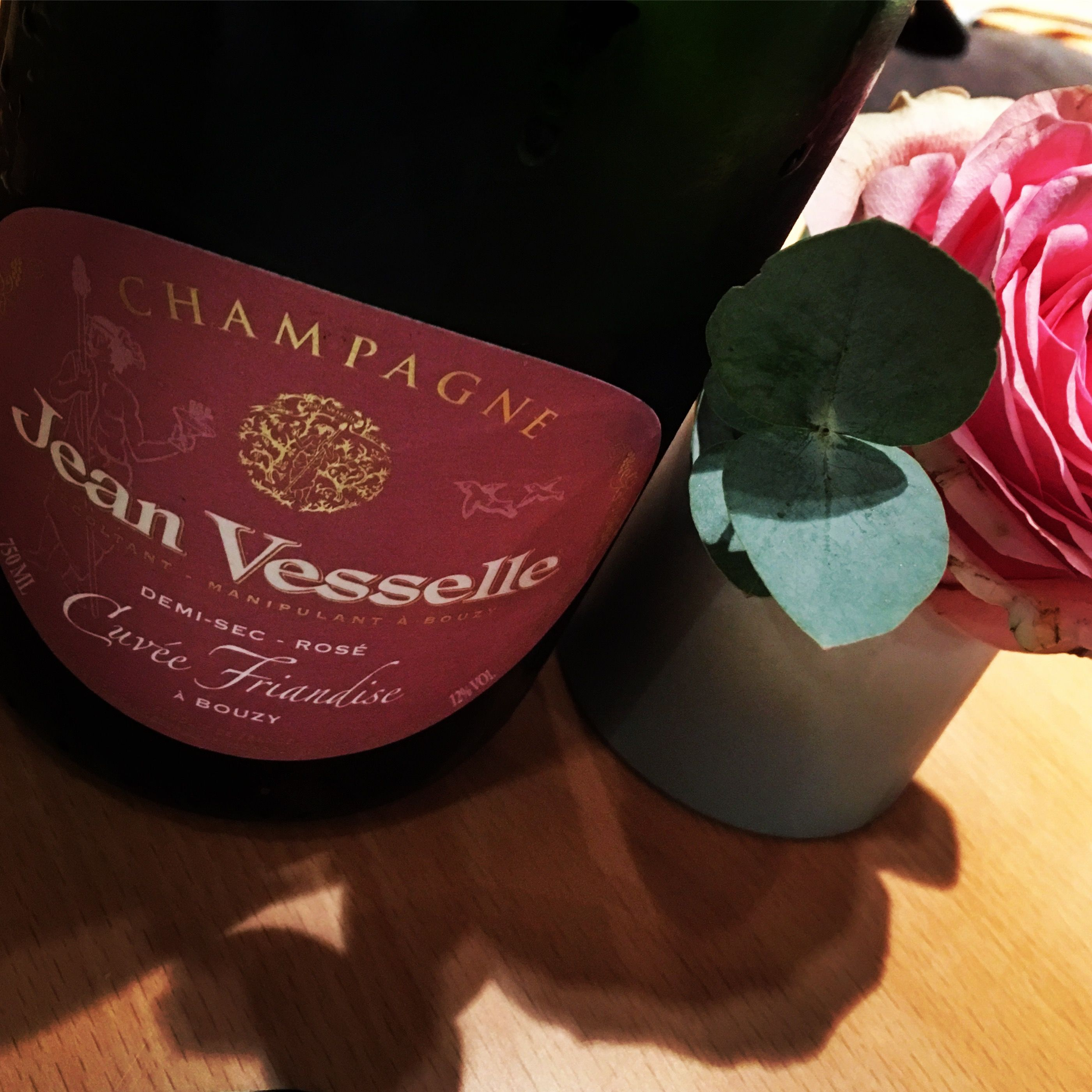 Jean Vesselle Bouzy Champagne Cuvee Friandise Demi Sec Rose Nv Champagne Cherry Clafoutis Sparkling Wine