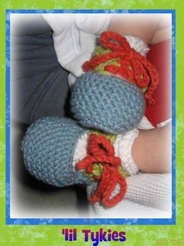 lil Tykies: Loom Knitting Pattern