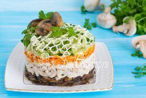 Салат с корейской морковью и курицей | Рецепт | Идеи для ...