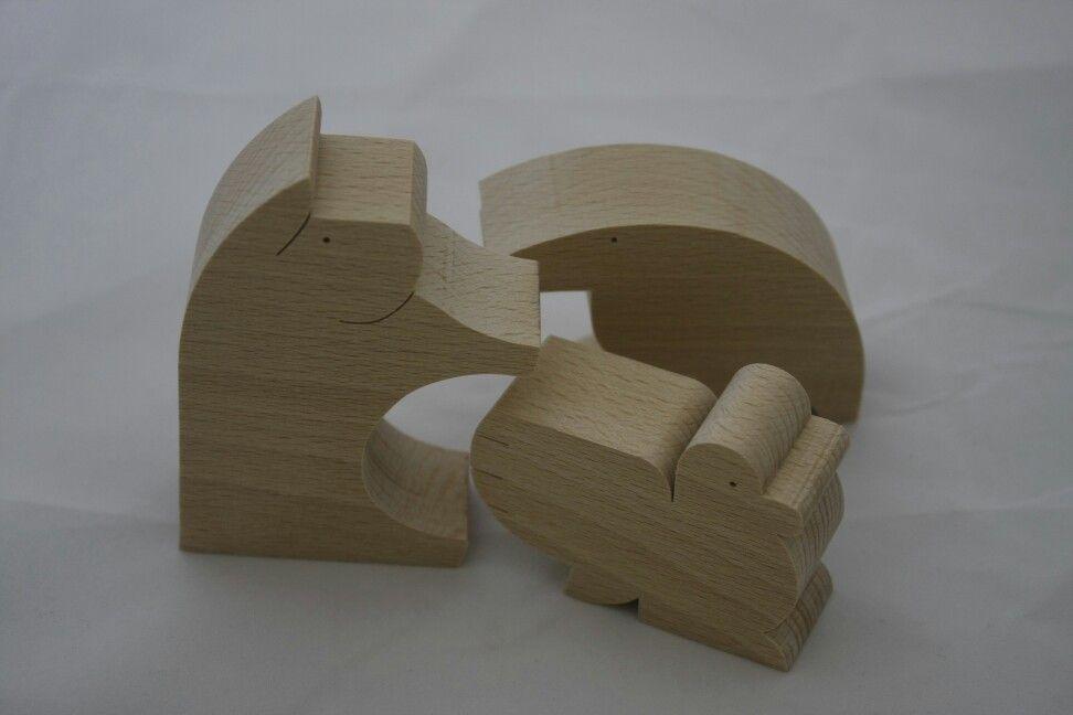 친환경 원목 장난감 쿠미키 디자이너 오구로사부로 디자인