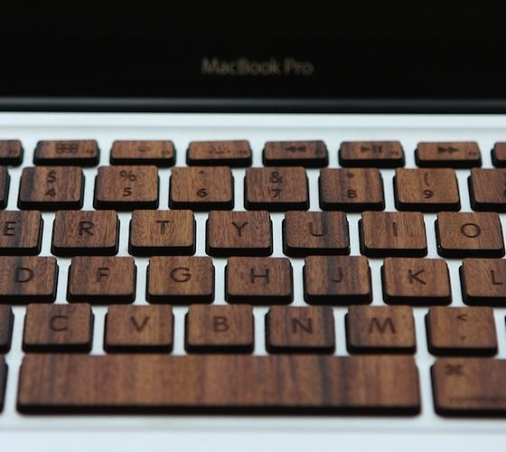 CJWHO  (A Wooden Keyboard Made From Rosewood And Bamboo...)