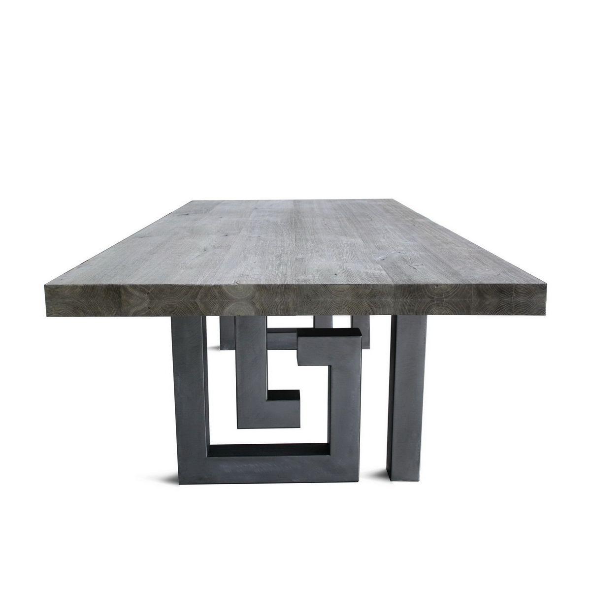Emejing Table Metal Design Images Joshkrajcik Us Joshkrajcik Us # Meuble Design En Metal