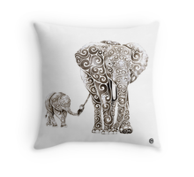 Design & Illustration: Top Selling Throw Pillows | Redbubble
