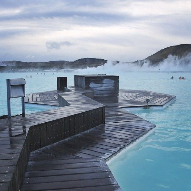 """RG @samhorine """"File under: Places I'd like to be right now"""" #BlueLagoon #Iceland"""
