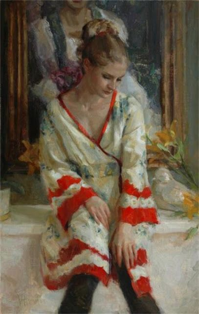 the art room plant: Johanna Harmon Johanna Harmon, Waterhouse Gallery, Great American Figurative Artist Exhibition, Original Oil, Figurative Women, Dragonfly, Heriloom, Santa Barbara California