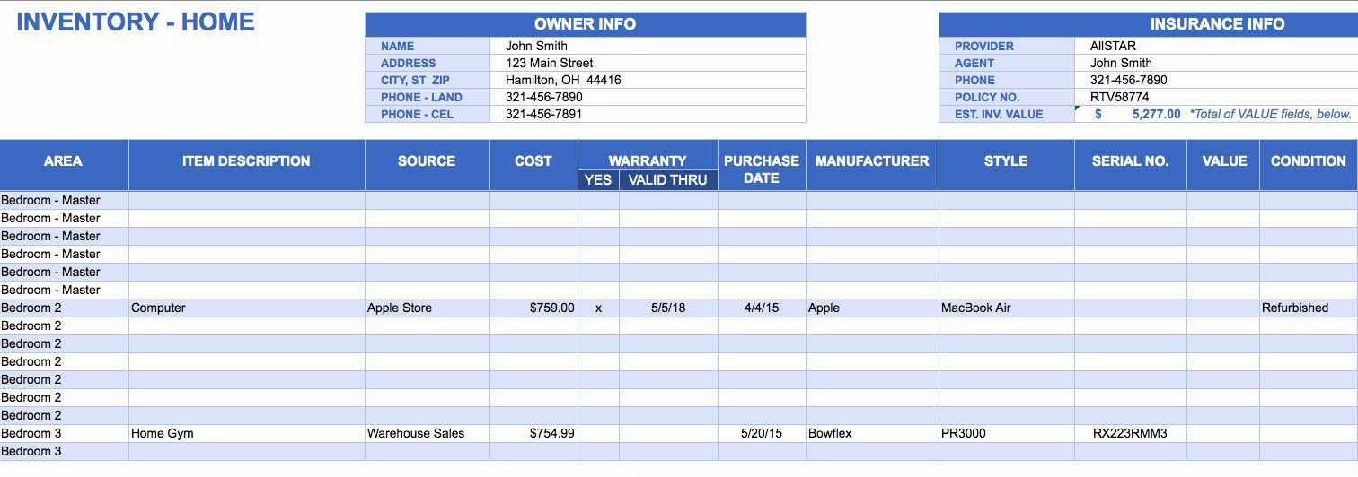 Computer Hardware Inventory Excel Template Best Of Free Excel Inventory Templates Spreadsheet Template Excel Spreadsheets Spreadsheet