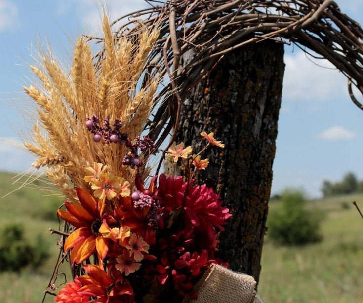 How To Make Your Own Rustic Fall Wreath