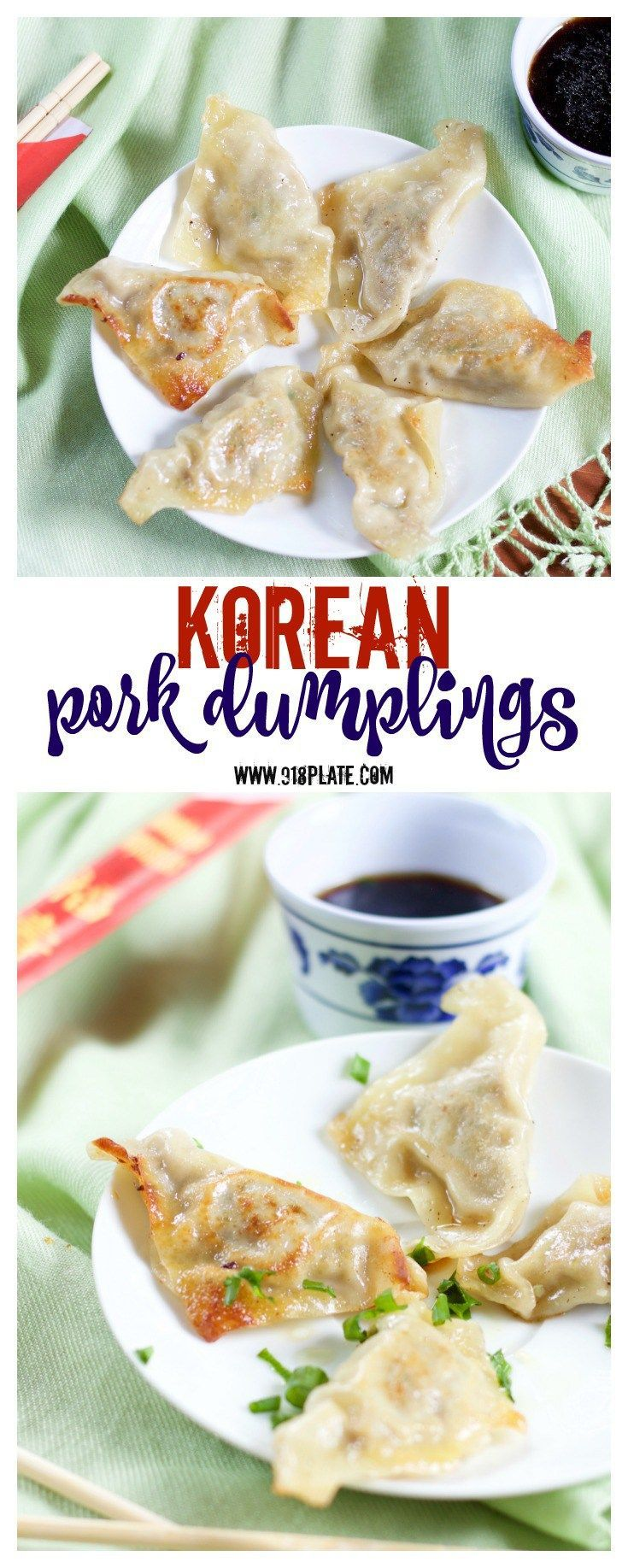 Mandu – Korean Pork Dumplings [DF]
