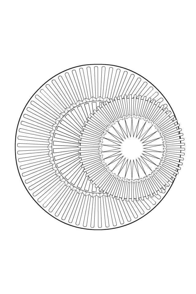 cirkel met afbeeldingen kleurplaten cirkels mandala