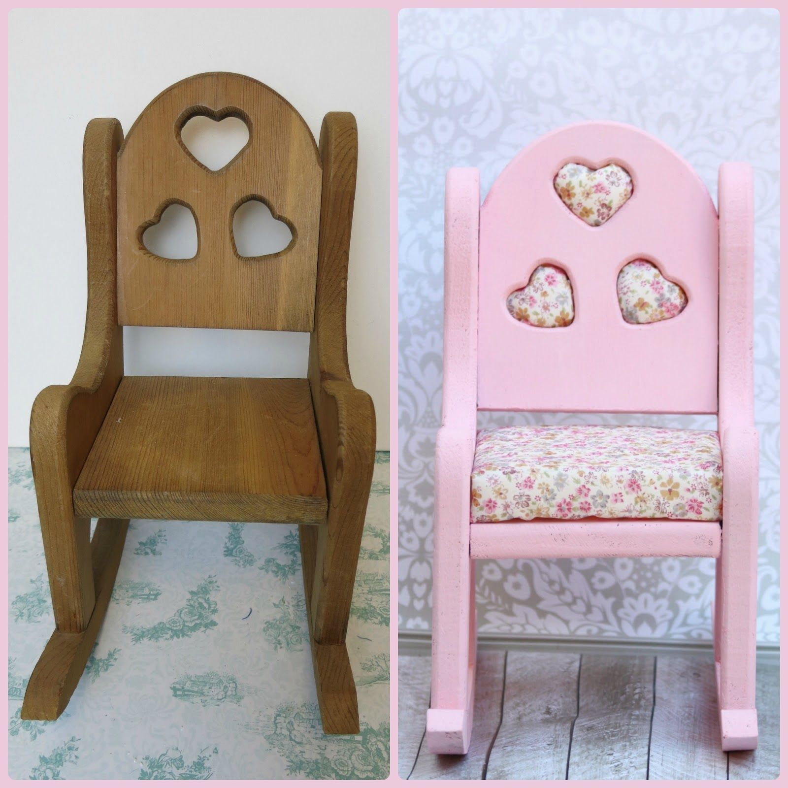 How to Update an Old Rocking Chair with Chalk Paint and Project Foam Cushions