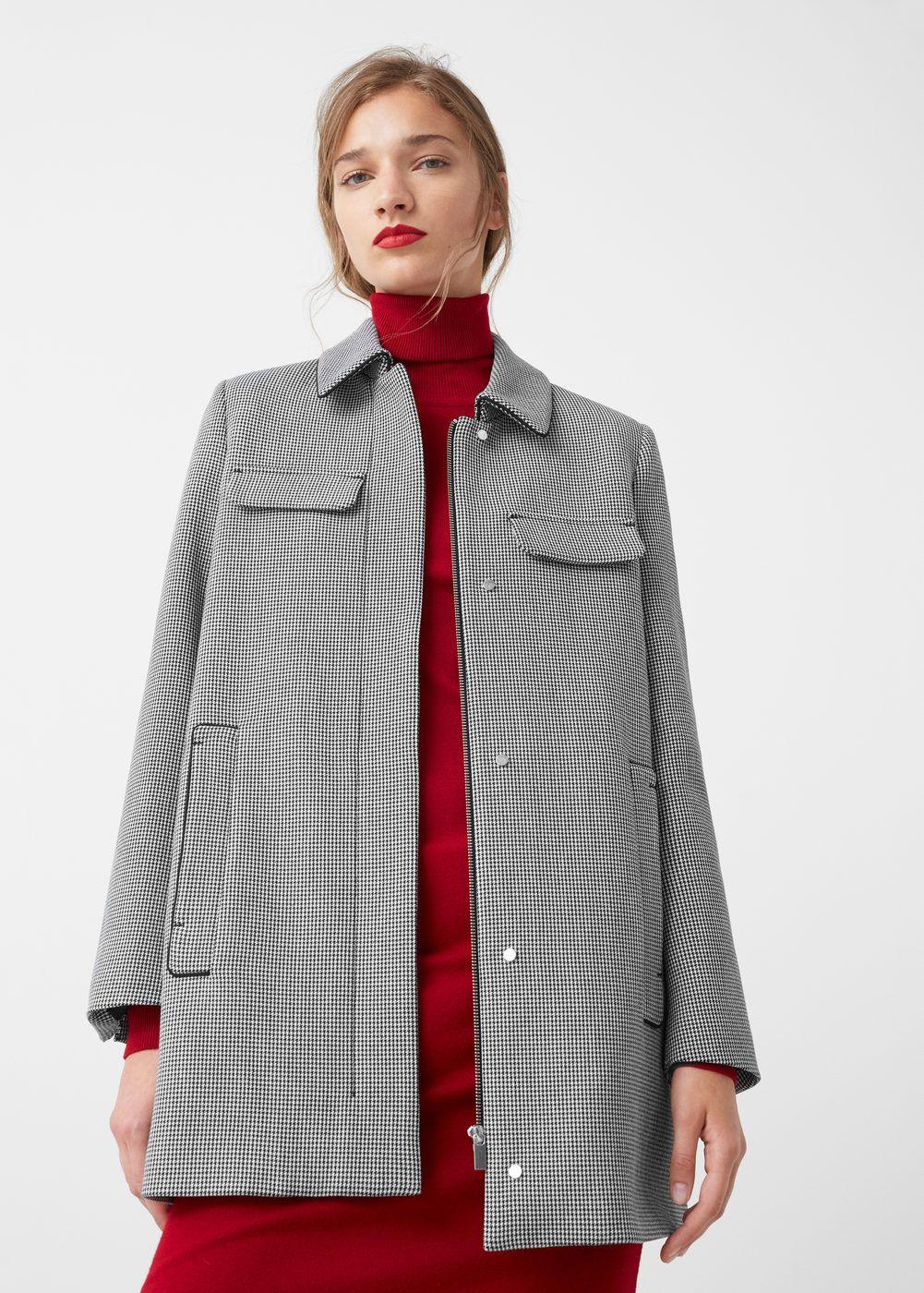 daf7cf738ff5e Parka en coton à capuche - Femme   Fringues et access    Pinterest ...