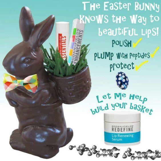 Let Rodan + Fields fill your Easter Basket!