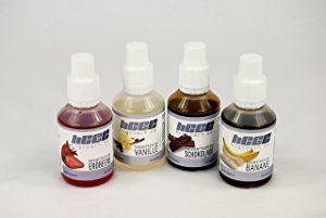 Aromatropfen / FlavDrops zum süßen und aromatisieren 4er- Pack zum Sparpreis